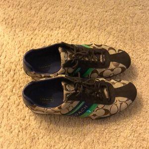 Size 9.5 Coach shoes